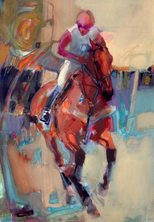 _TIMING_ 22 x 15 watercolor by Lesley Humphrey Pearl MFAH Gala.jpg