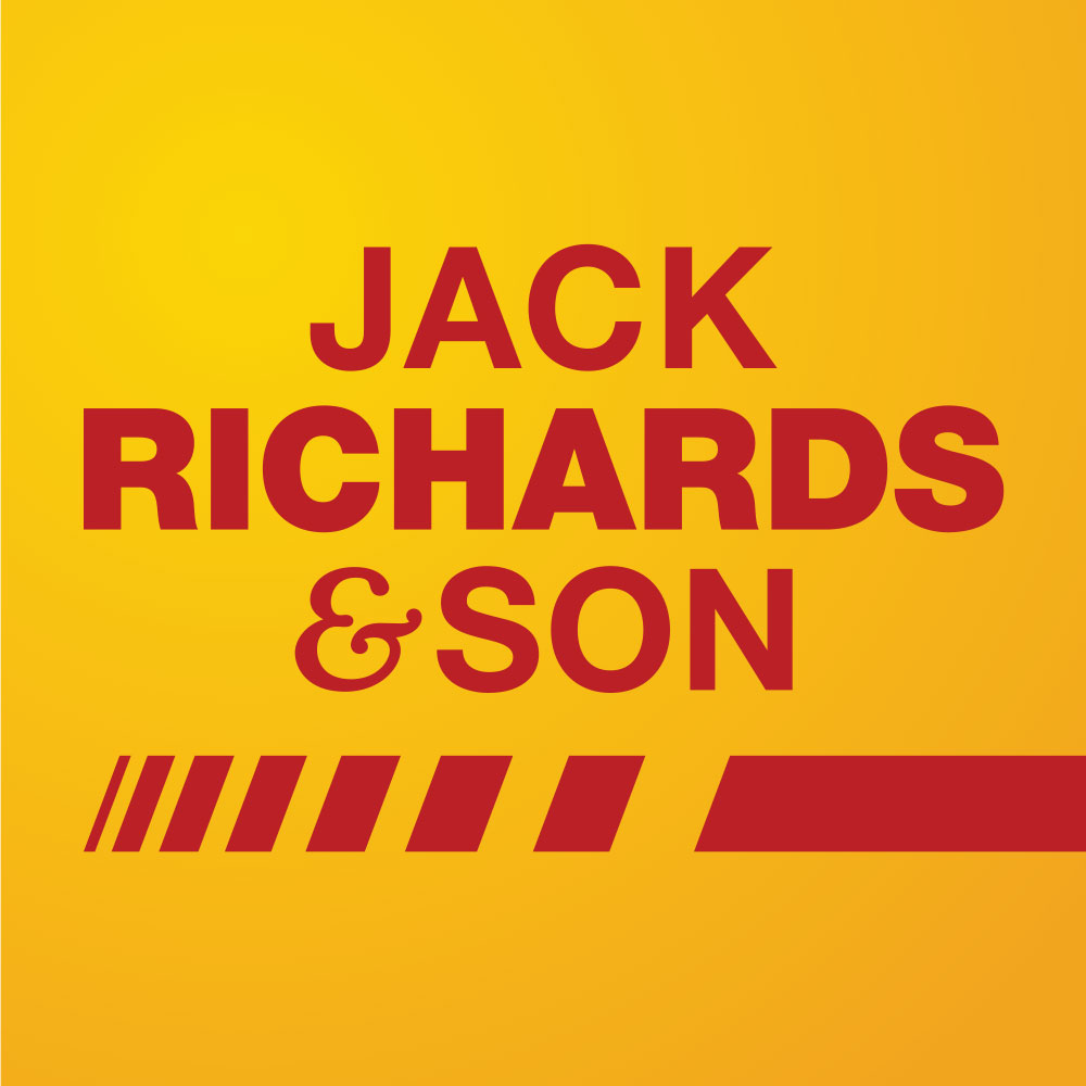 JACK RICHARDS & SON   National road transport company. Sponsors of our festival wristbands.