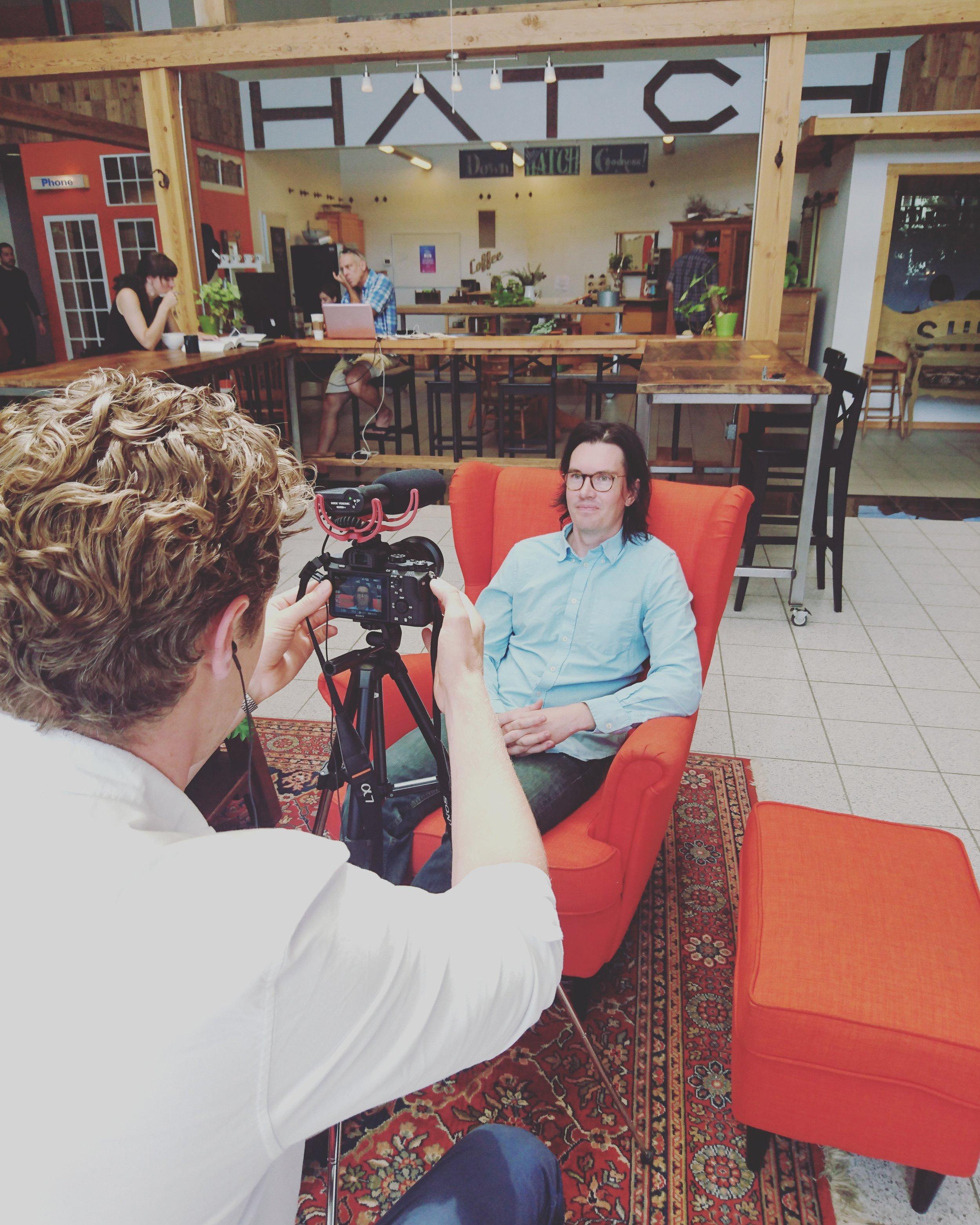 Interviewing entrepreneurs in Portland, Oregon