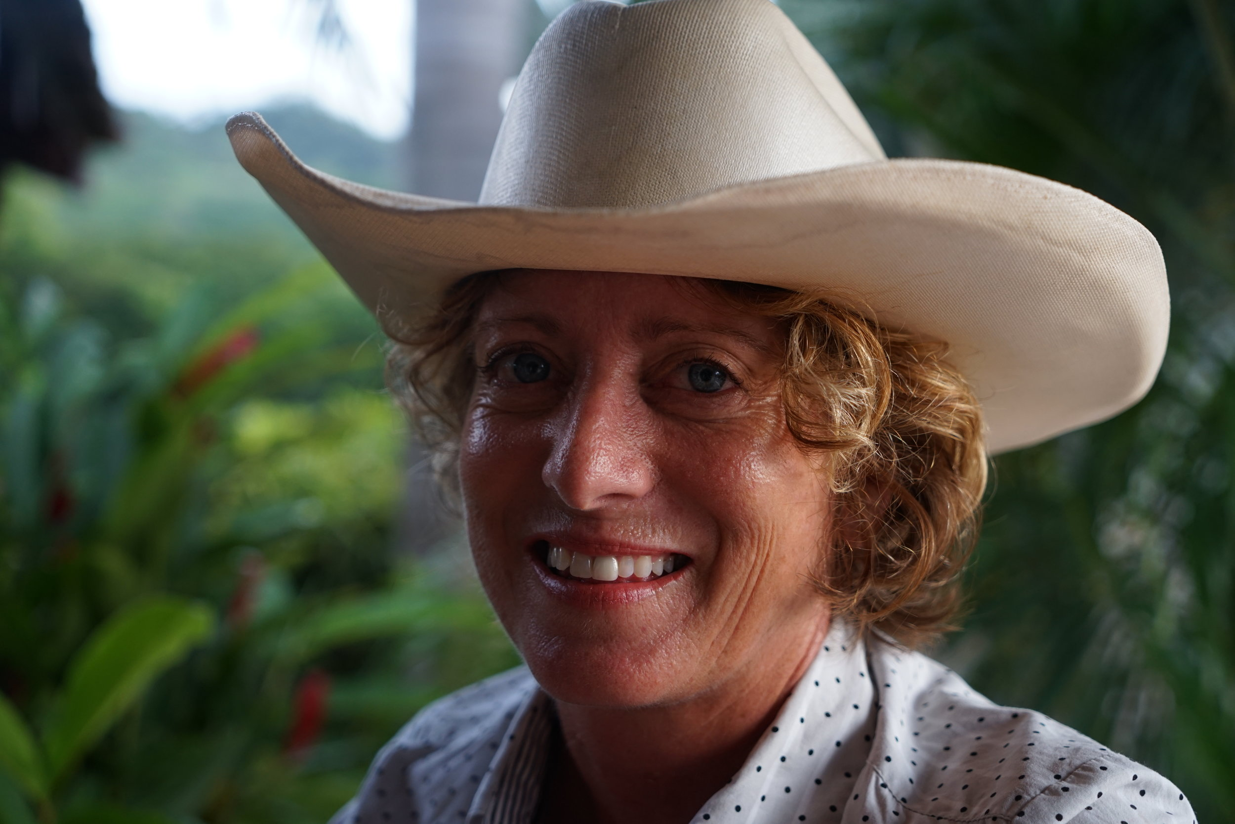 Heather 'Blue' van Doorninck   Cowboy and Visionary  -  Big Sky / Rancho Chilamate   Based:Nicaragua