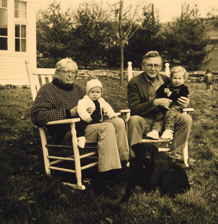 Burke Marshall & John Doar with Grandchildren
