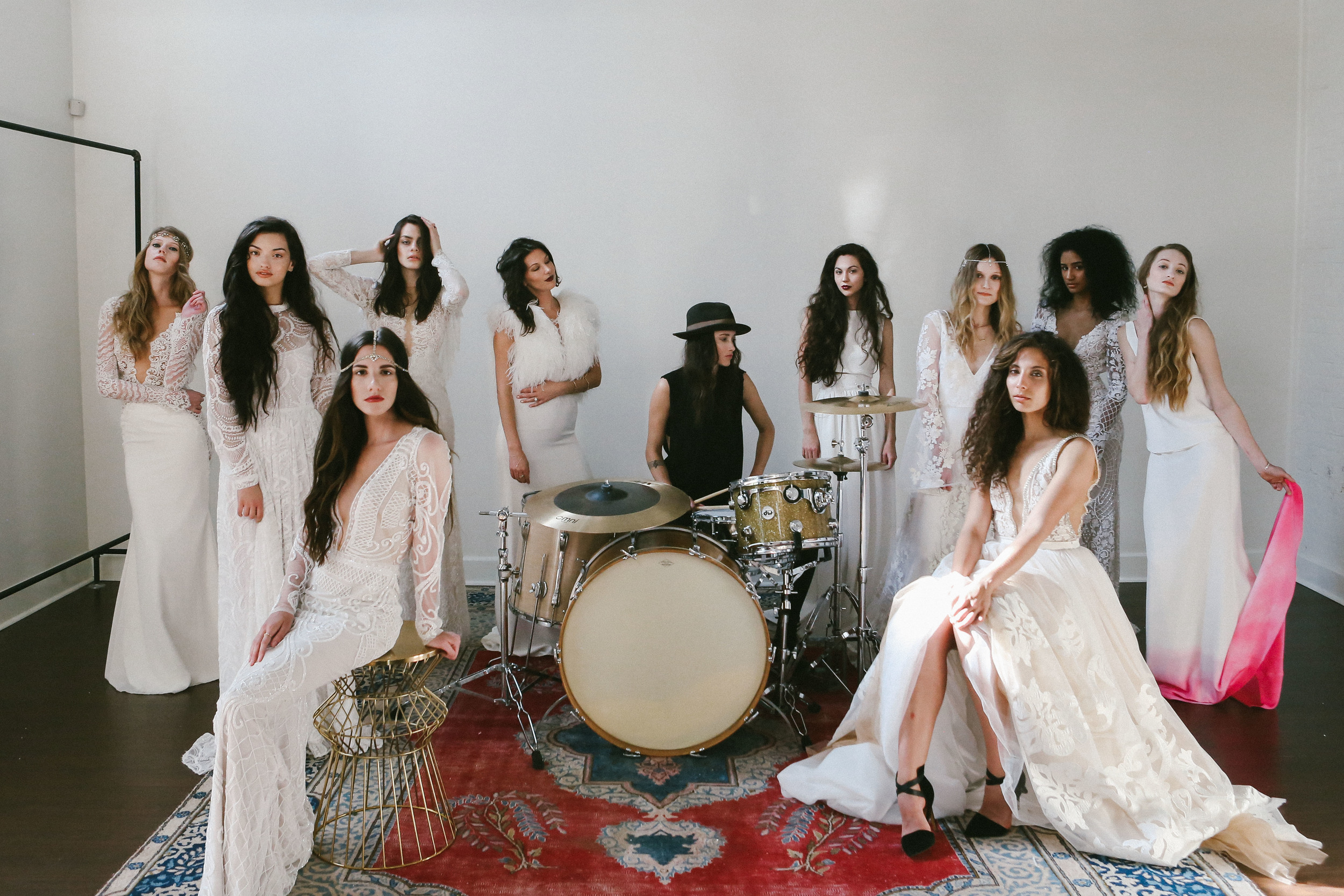 finery-boutique-huntsivlle-alabama-bohemian-wedding-shop-odylyne-the-ceremony-yolan-cris-bride-bridal-yaki-ravid-berta-calla-blanche-lookbook-cool-nashville-tenessee-rock-roll-drums-katie-herron