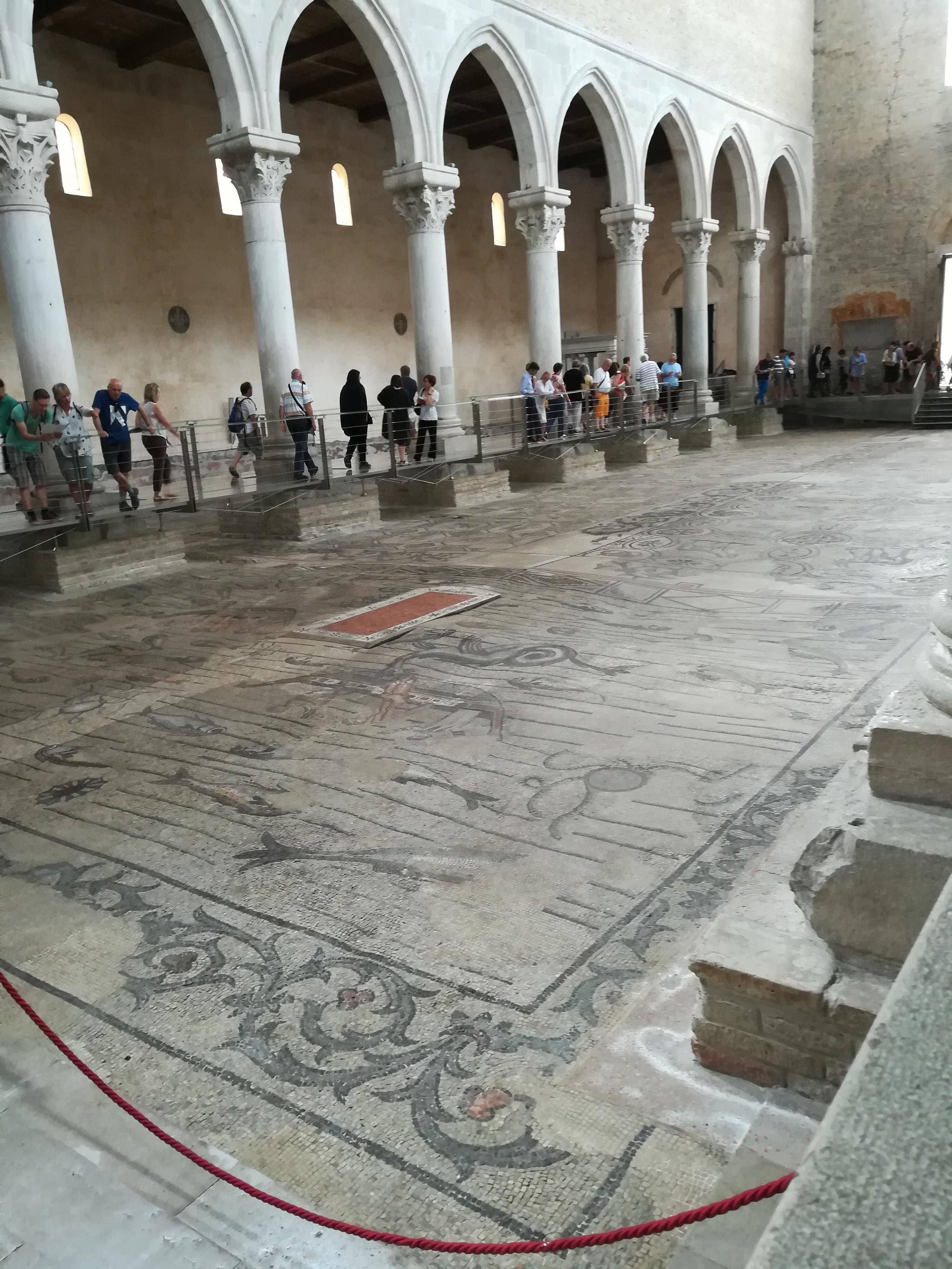 ...ed un tuffo nel passato nell'incantevole Basilica di Aquileia