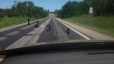 A Motorcycle 4-lane!!!