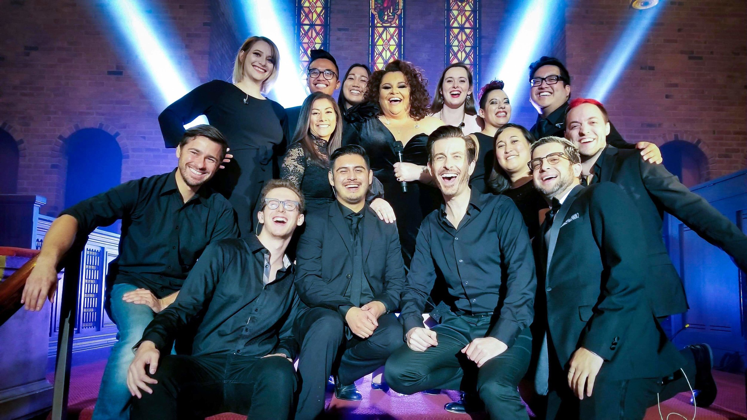 Top Shelf Vocal performs with Keala Settle live on Nippon TV