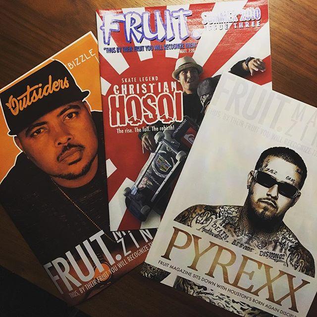 Issues of FRUIT. magazine