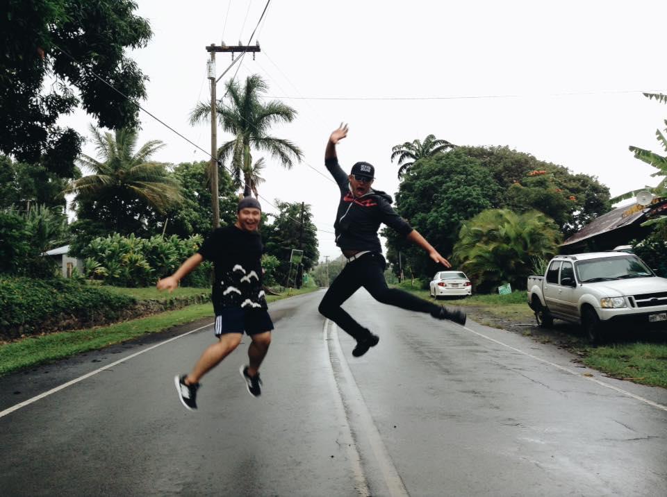 Boys can jump too