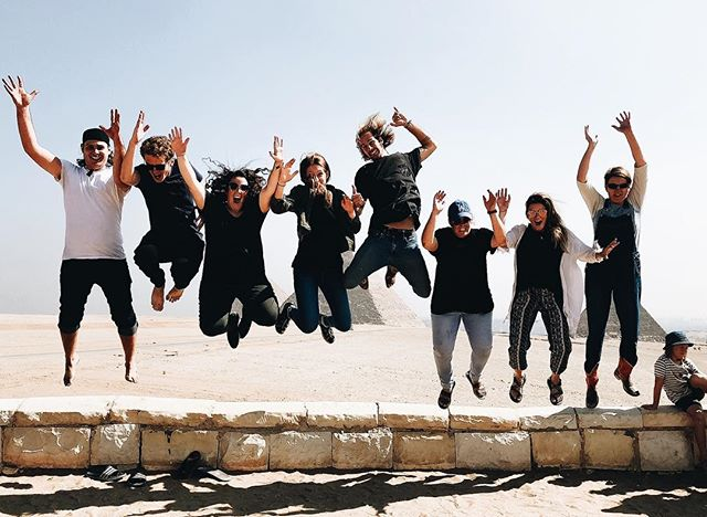 Jumping for joy because it's never too early to join our amazing ENGAGE school next July 2019 ✨ Click the link in our bio for more info ✌🏼✌🏼