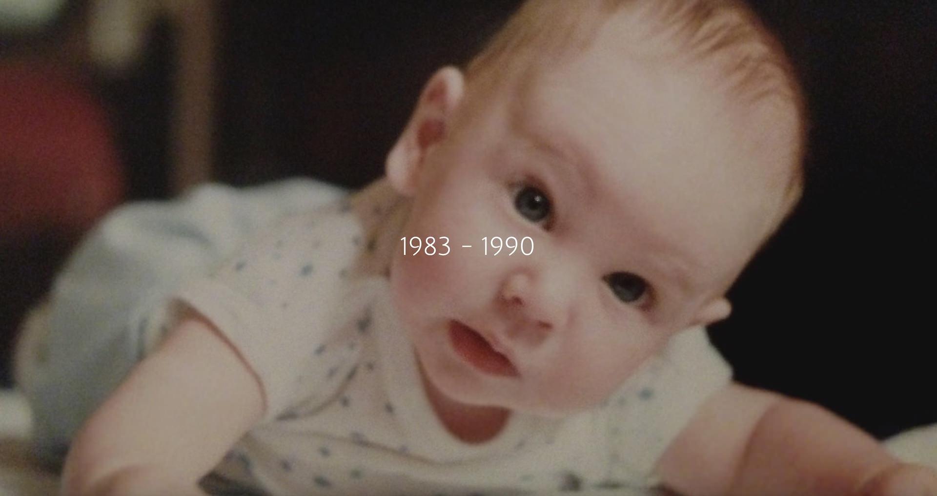 Robert Emery as a baby