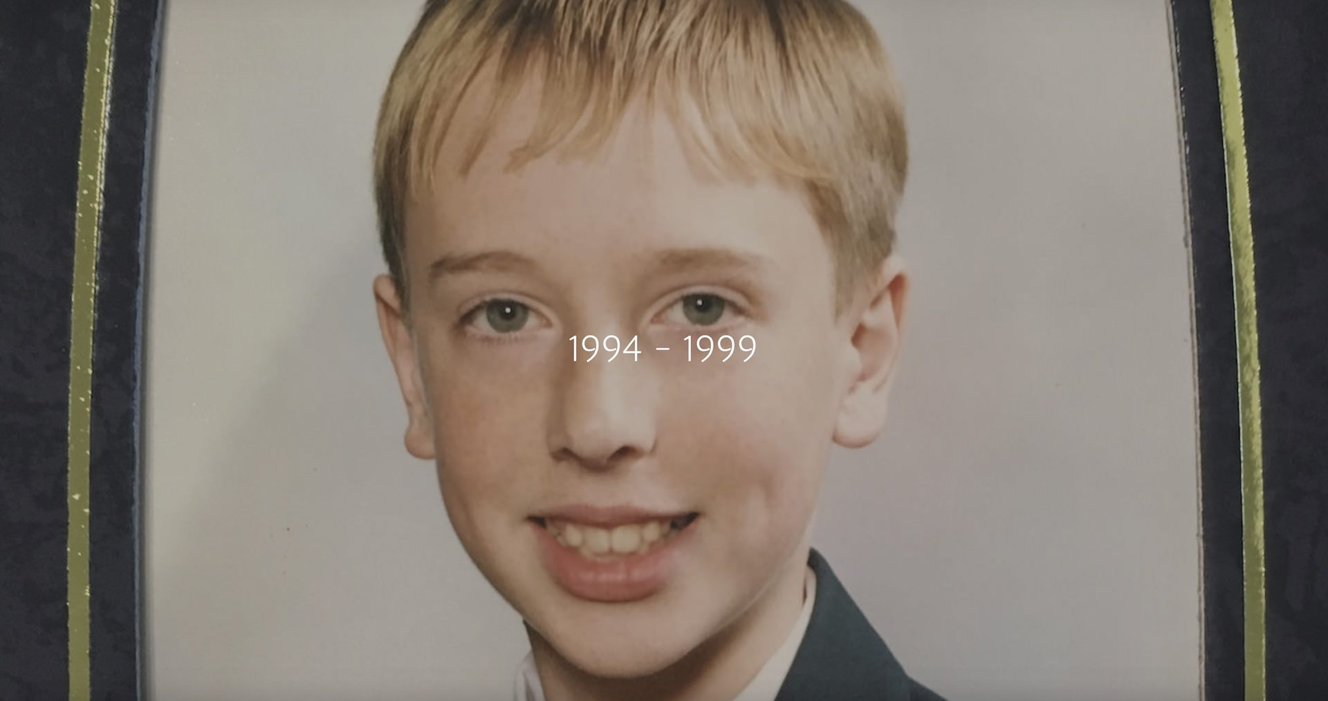 Robert Emery as a teenager