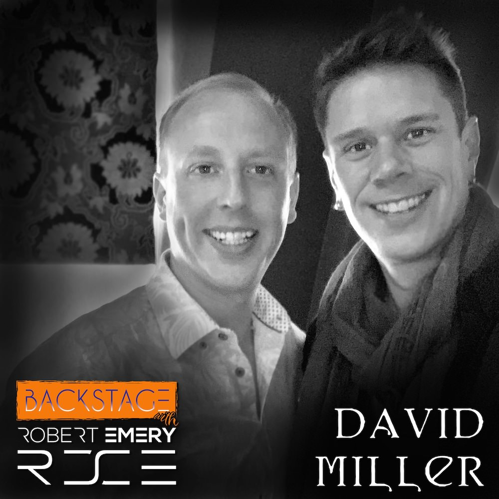 David Miller from Il Divo with Robert Emery