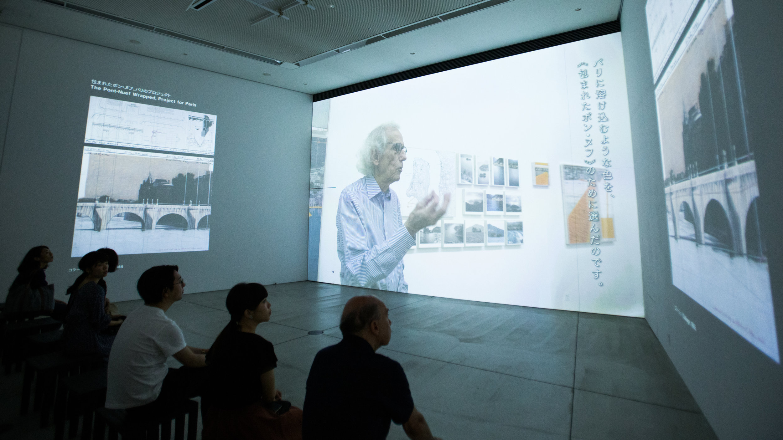 """21_21 DESIGN SIGHT """"Christo and Jeanne-Claude"""""""