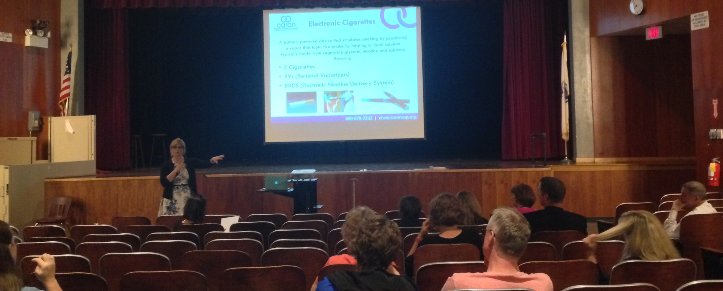Prevention Resources and Education for Parents    (PREP)  by Caron Student Assistance Program at the Millis High School, 5/2016
