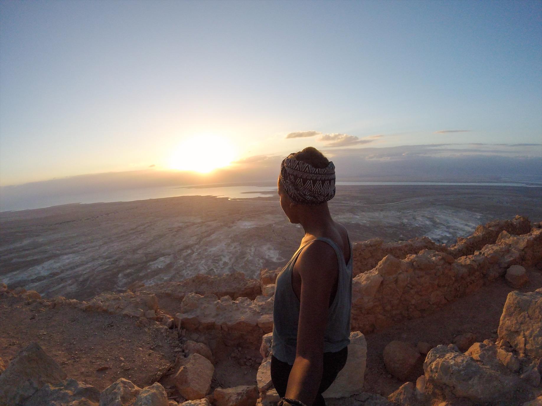 Top of Masada- Masada Sunrise tour