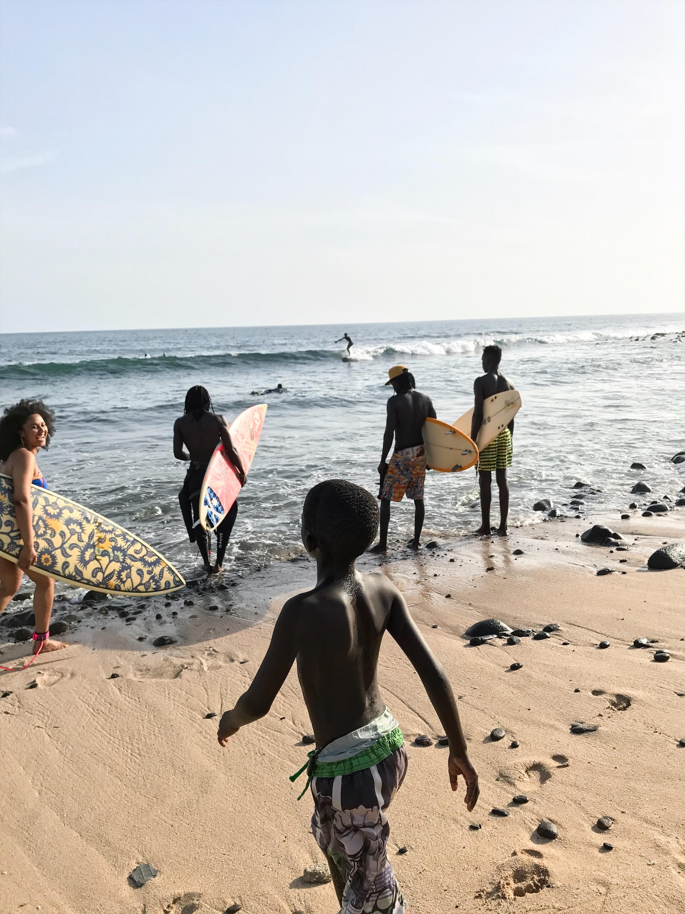 Secret Beach, Almadies, Dakar, Senegal