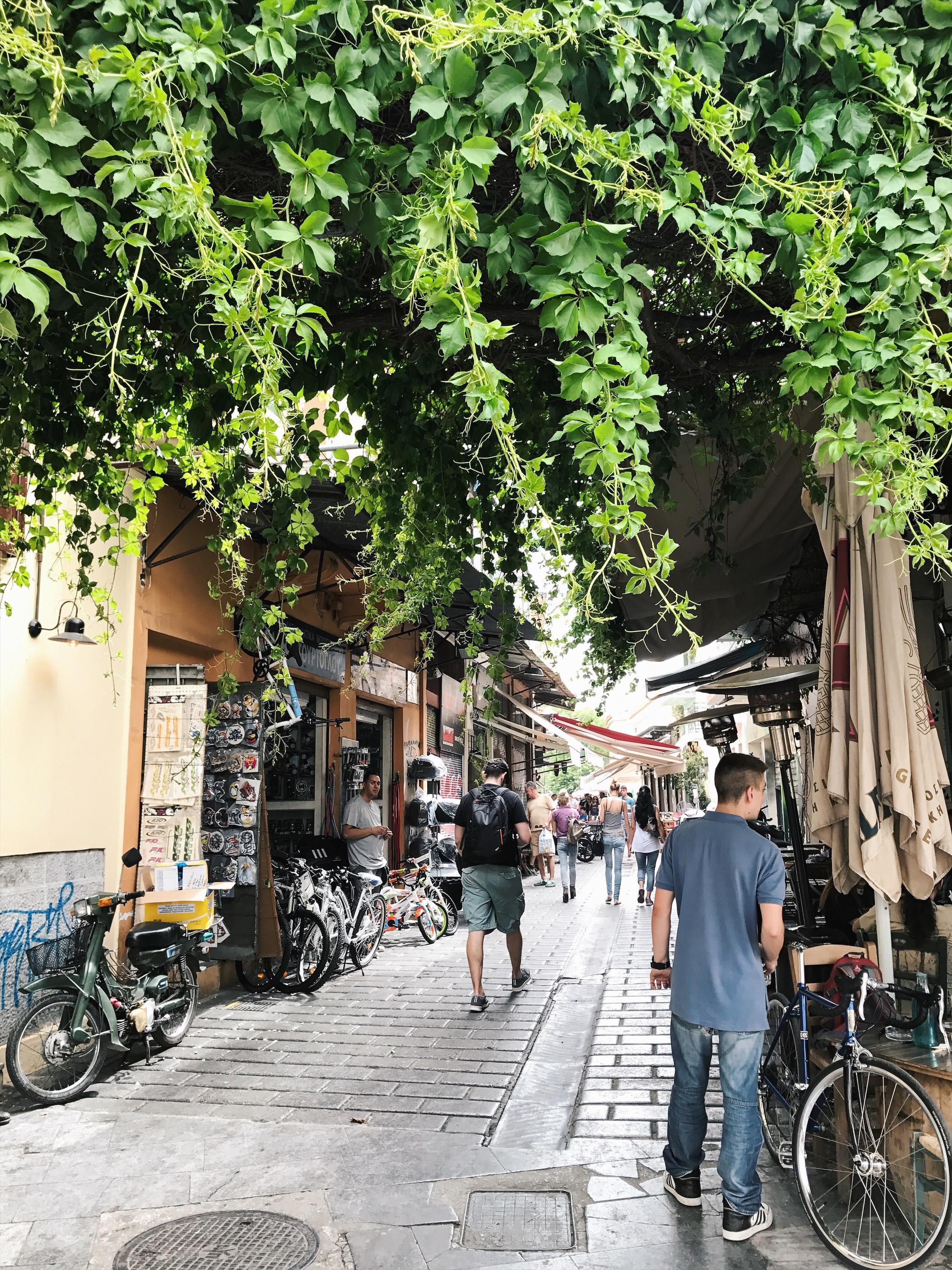 Monastiraki Flea Market, Athens, Greece