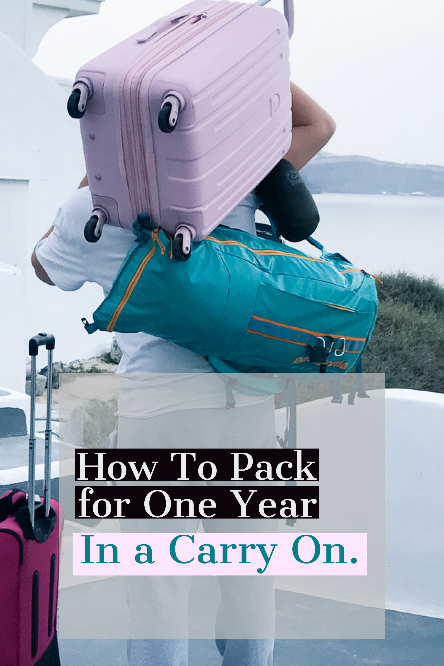 how to pack for a year pinterest