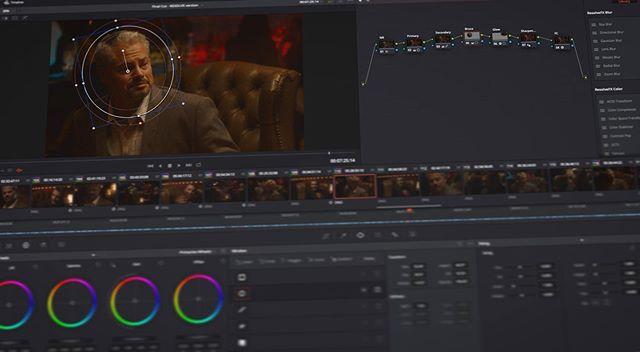 Color grading #siliconcaesar  #davinciresolve #colorgrading #atxfilm #filmmaking