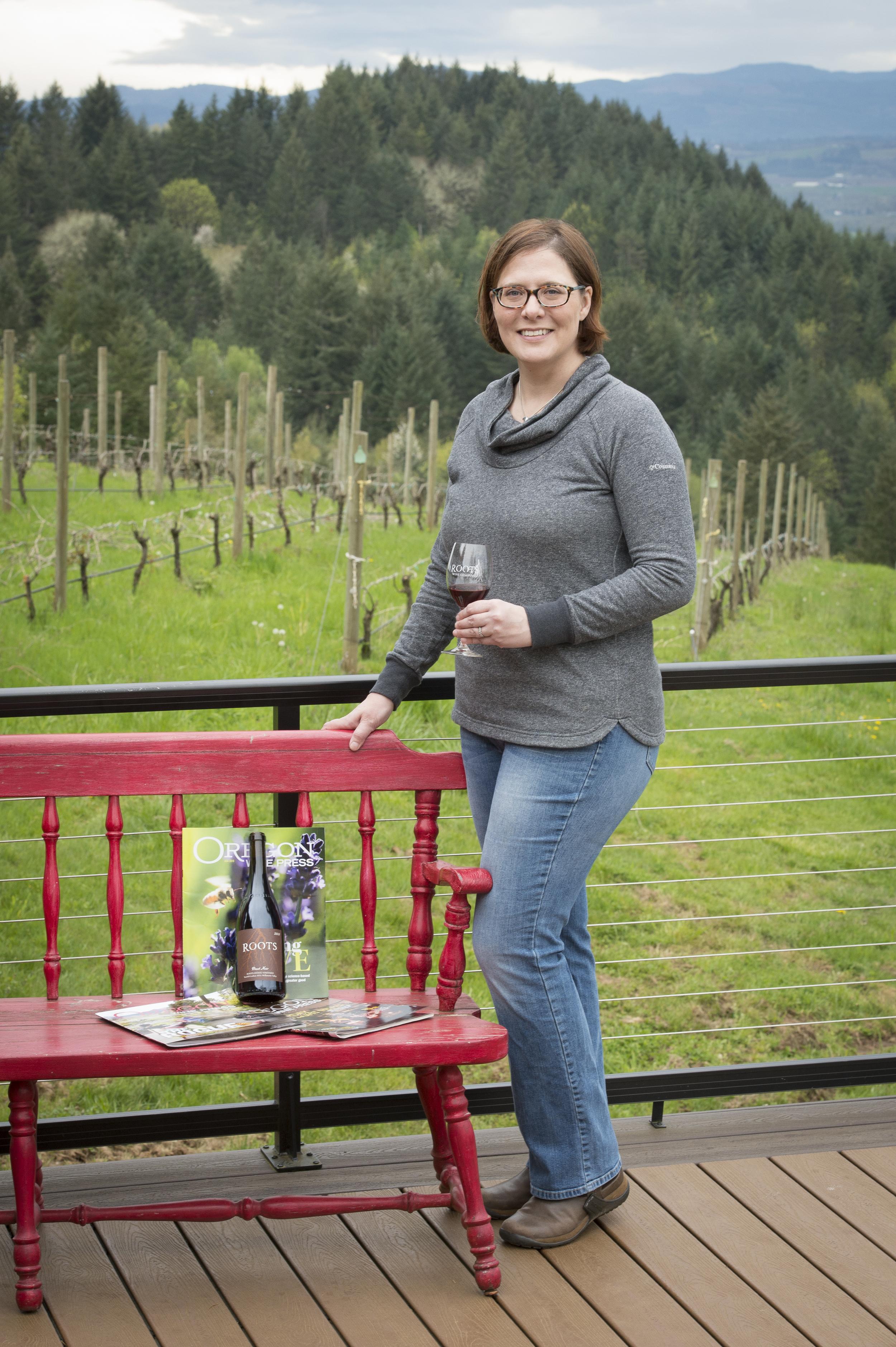 Roots Wine Company photos courtesy of Andrea Johnson