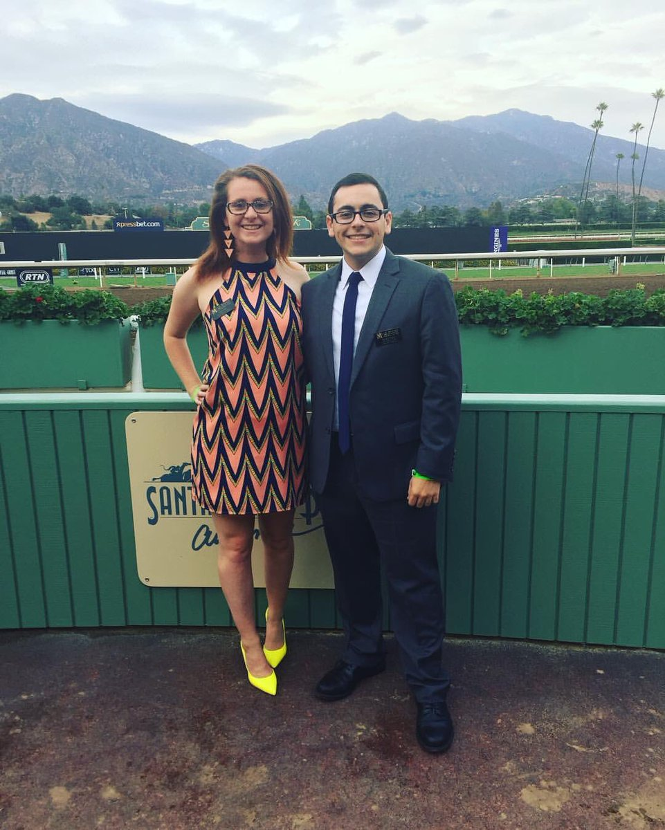 Amie Just, J-School student and 2015 Jim Murray Memorial Scholarship winner, attended the award ceremony with Chasen in Los Angeles.