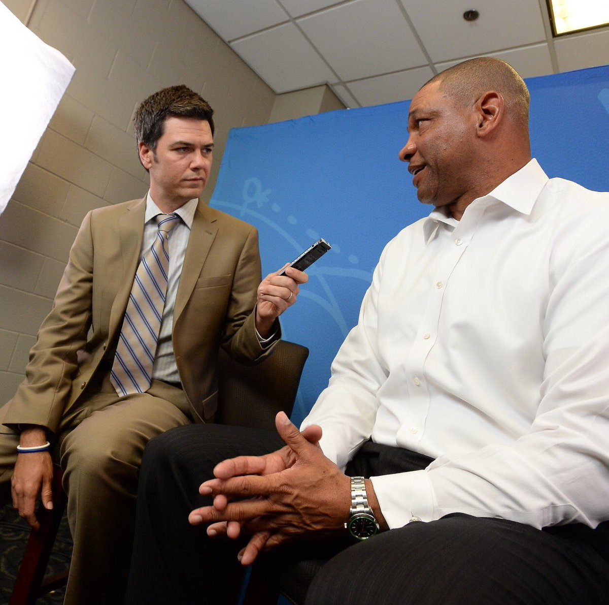 Sieman interviews Doc Rivers, head coach and president of the Los Angeles Clippers.
