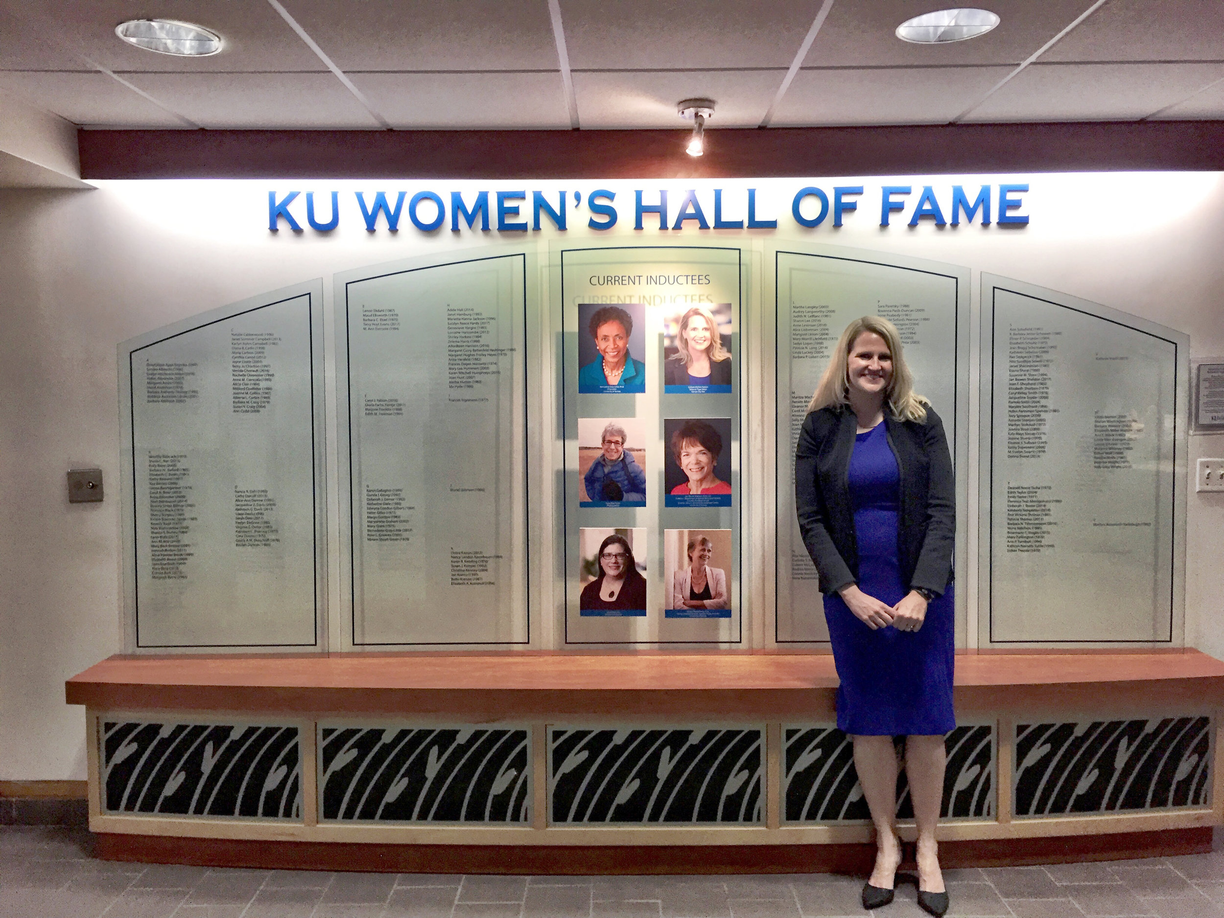 Colleen McCain Nelson  (j'97) was inducted into the KU Women's Hall of Fame in April. Nelson is a Pulitzer Prize-winning journalist and former political reporter. She currently is vice president and editorial page editor at the Kansas City Star.