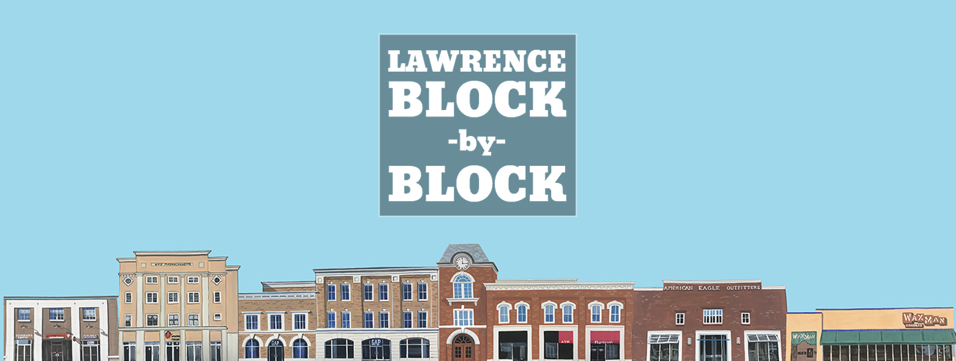 Block-by-Block is featured on the Unmistakably Lawrence website and displays timelines for buildings that students have researched. (Image courtesy of Unmistakably Lawrence)