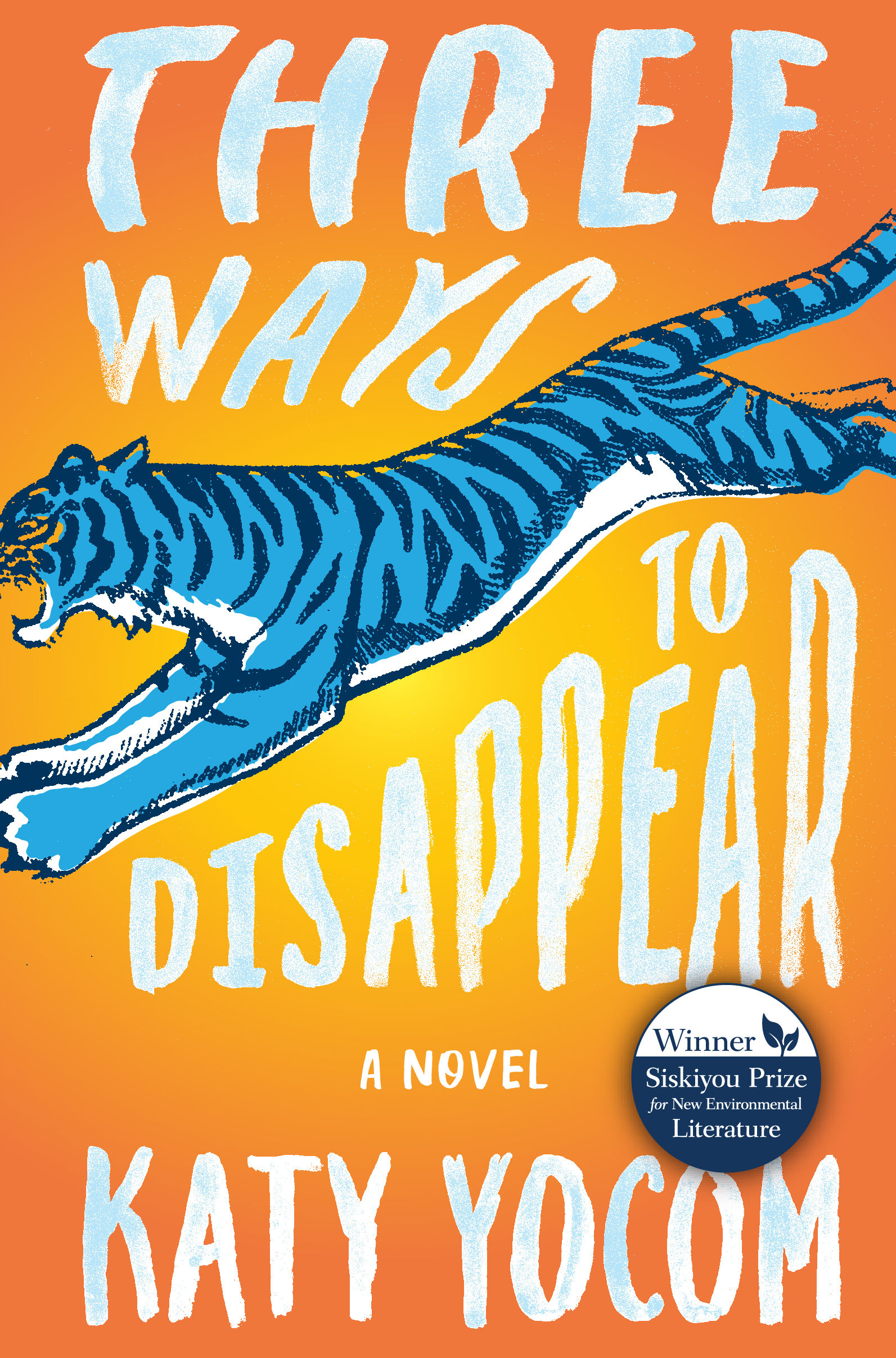 """""""Three Ways to Disappear"""" is available at Amazon and Barnes & Noble."""