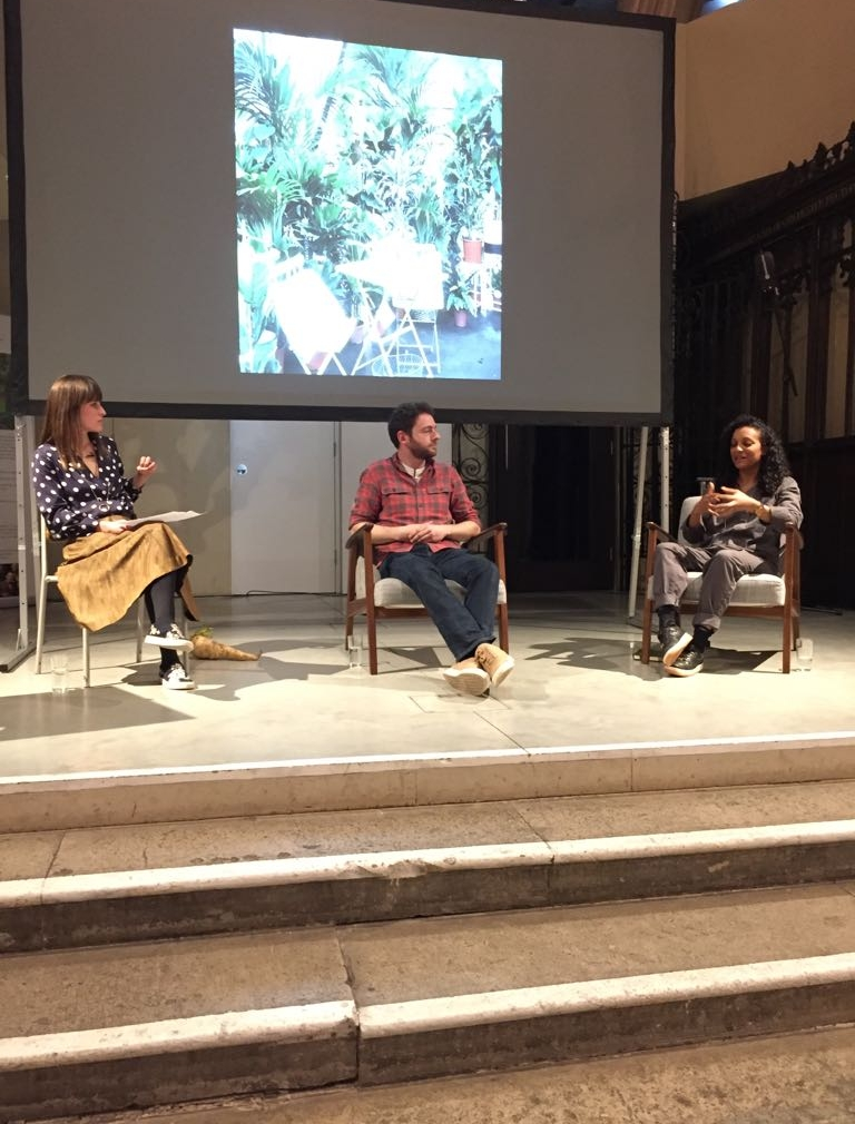 The Noughticulture Talks at The Garden Museum: Growing to eat in small spaces - MARCH 2018In the first of a series of talks curated by Alice Vincent, I was part of a panel alongside gardener Jack Wallington to discuss how to approach growing edible plants in urban spaces.https://gardenmuseum.org.uk/