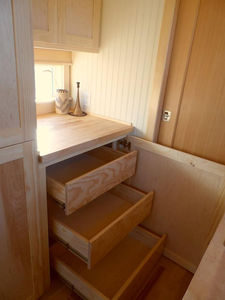 storage tiny house