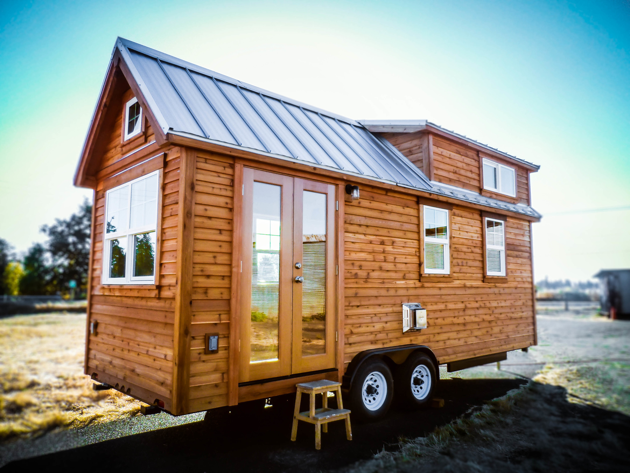 Tiny home with wheels