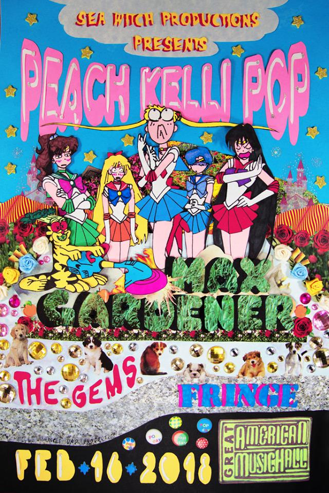 >> tickets  -  Peach Kelli PopMax GardenerFringeThe Gems$16 / ALL AGES / RSVP HERE
