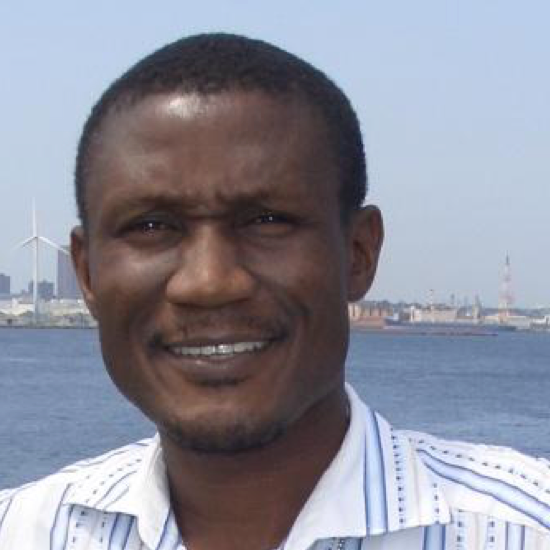 Dr. Abdul Husaini   General Manager of Niger State Geographic Information Systems, Minna, Nigeria