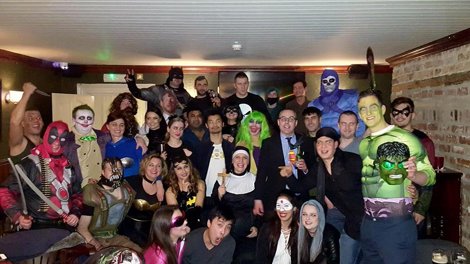 STAFF PARTY 2017 - HEROES & VILLAINS THEME