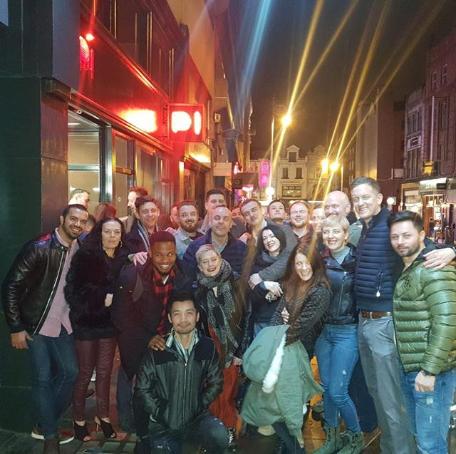Staff party with the hardest working team in Dublin! A few shots to get warmed up in @thebankersbar followed by more in @thedametavern with Delicious pizza 🍕 in @pi nthen onto @copperfacejacks