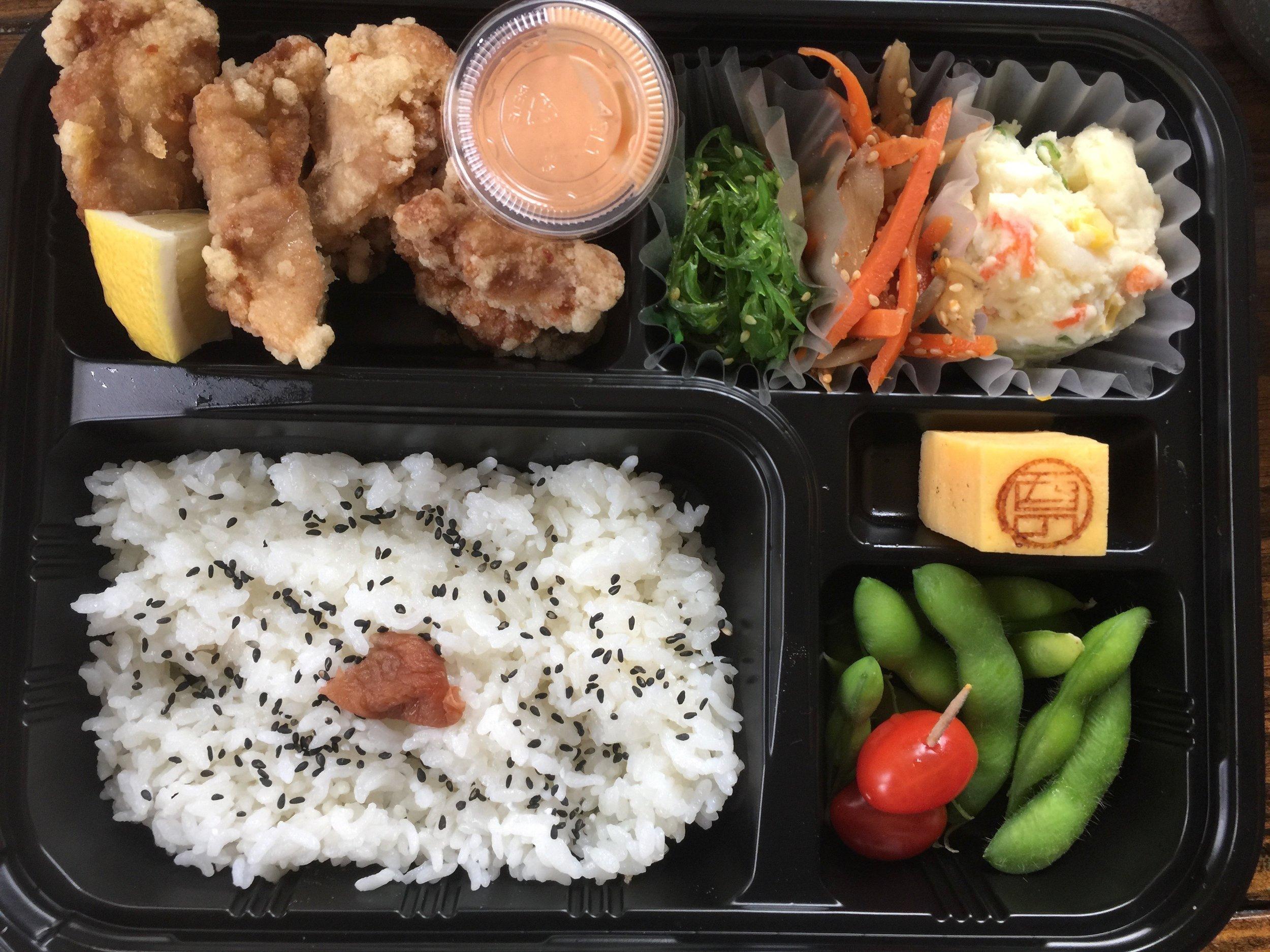Karaage Bento Starting at $12