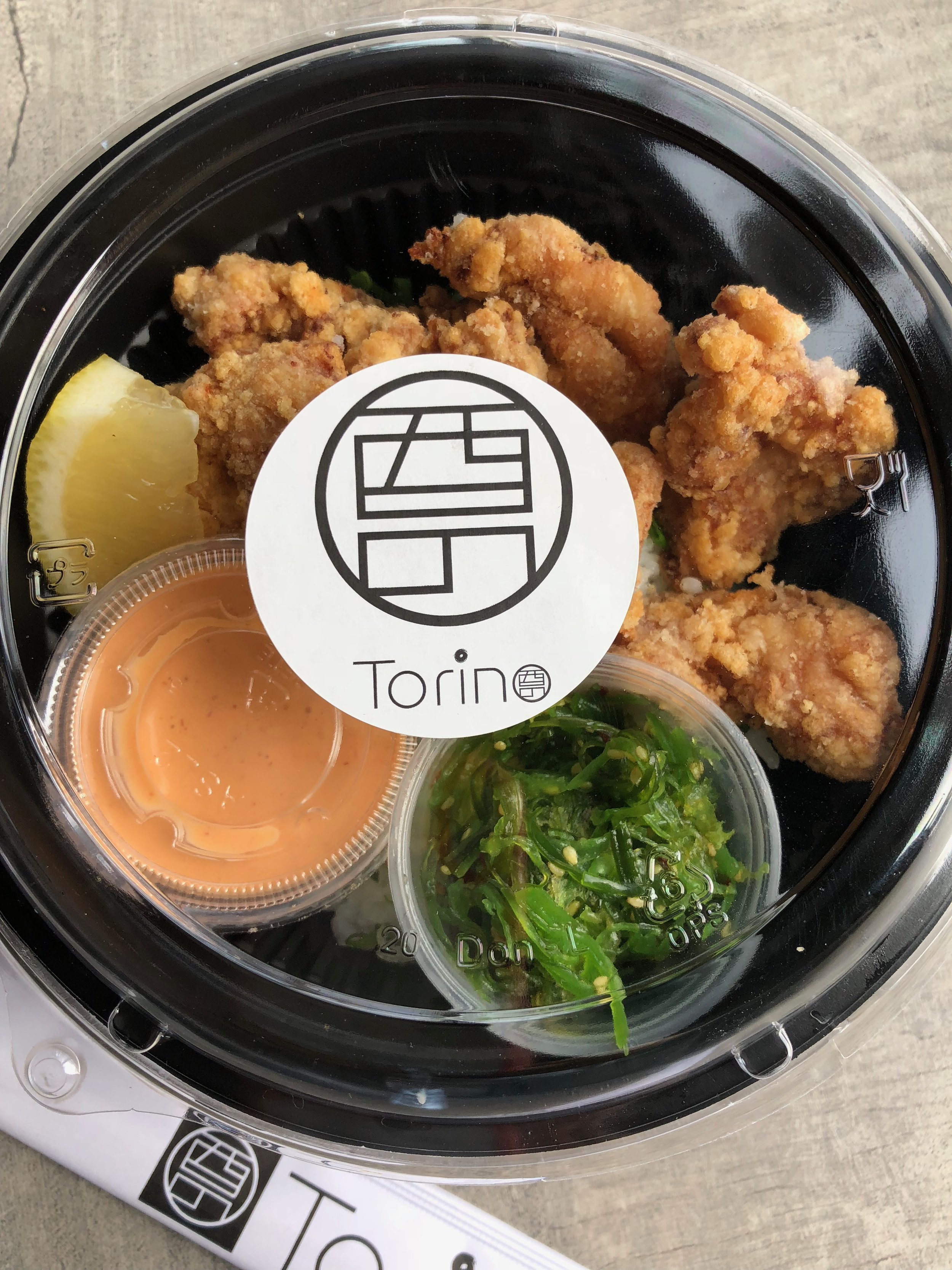 Karaage Don with Spicy Mayo