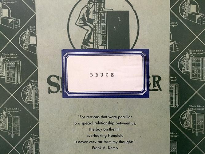 Dear Old Bruce