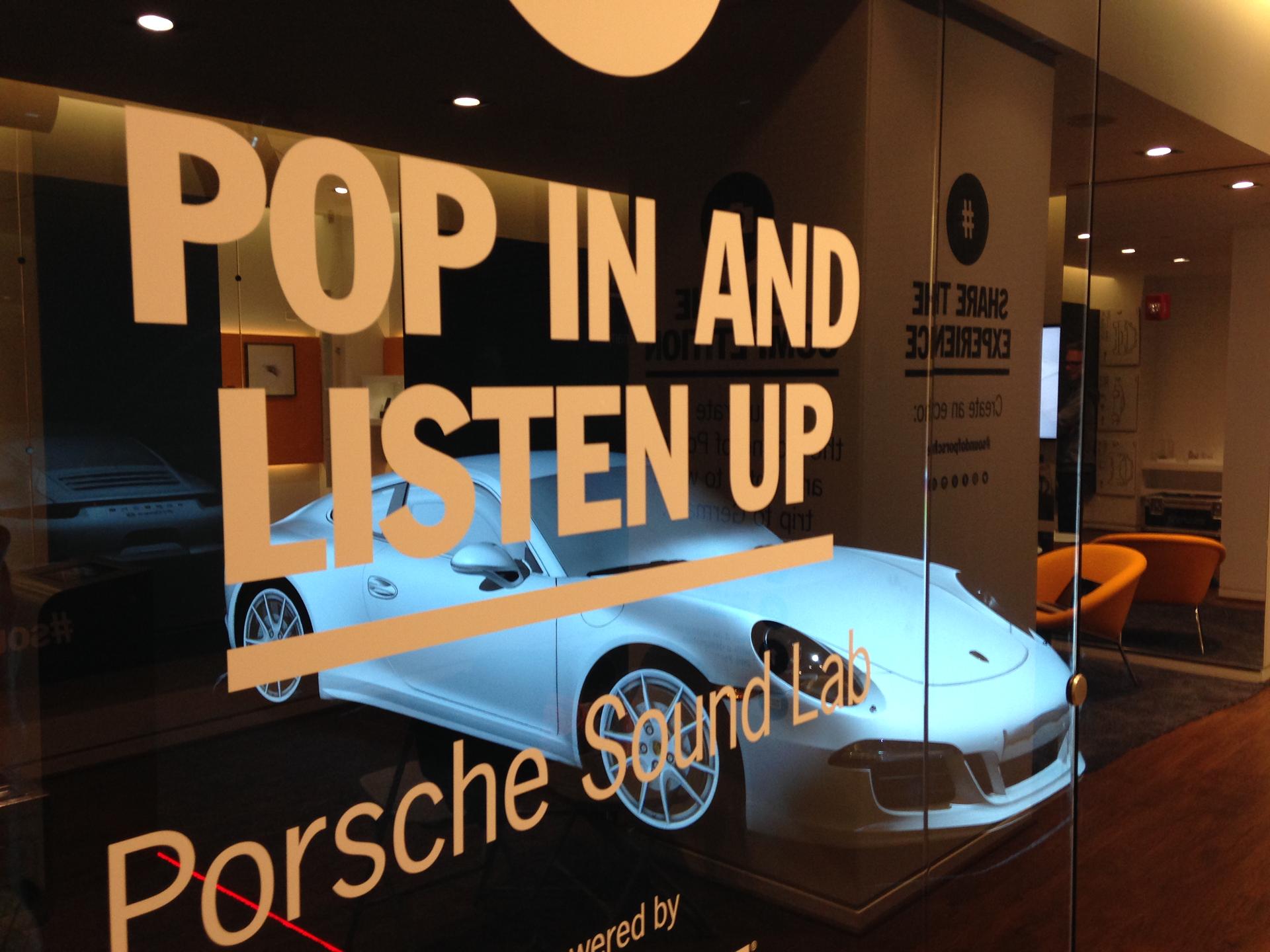 Porsche/ sound identity / amp sound branding / audio branding