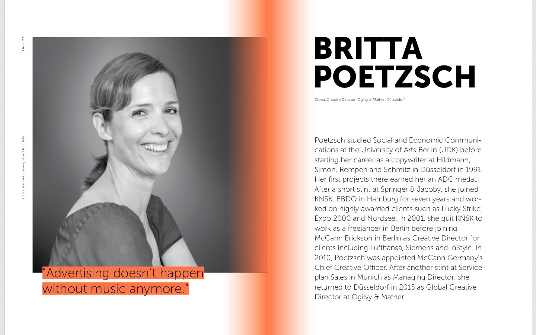 britta poetzsch, ogilvy&mather sound branding, music in advertising, sound identity