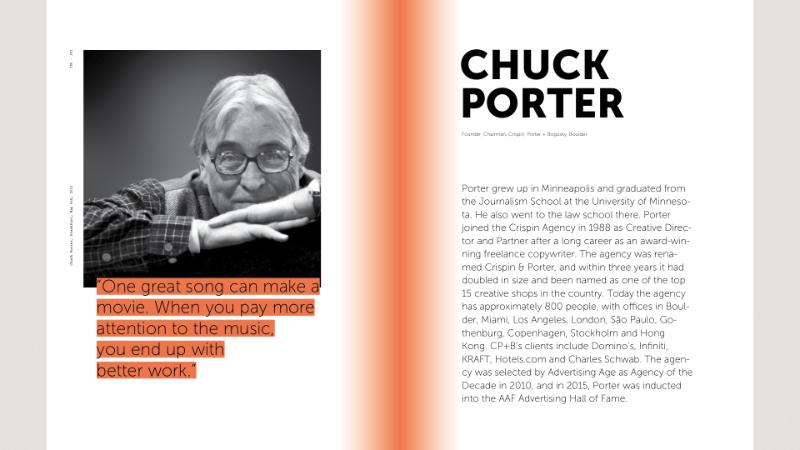 Chuck Porter 101 Great Minds Music Brands Behavior Uli Reese Sound branding