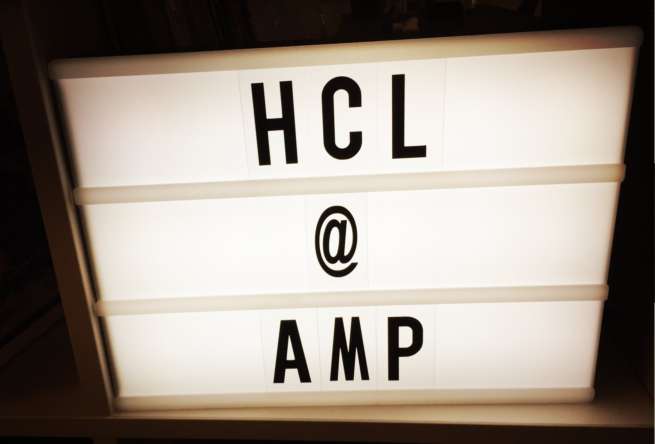 amp HCL Technologies sound branding