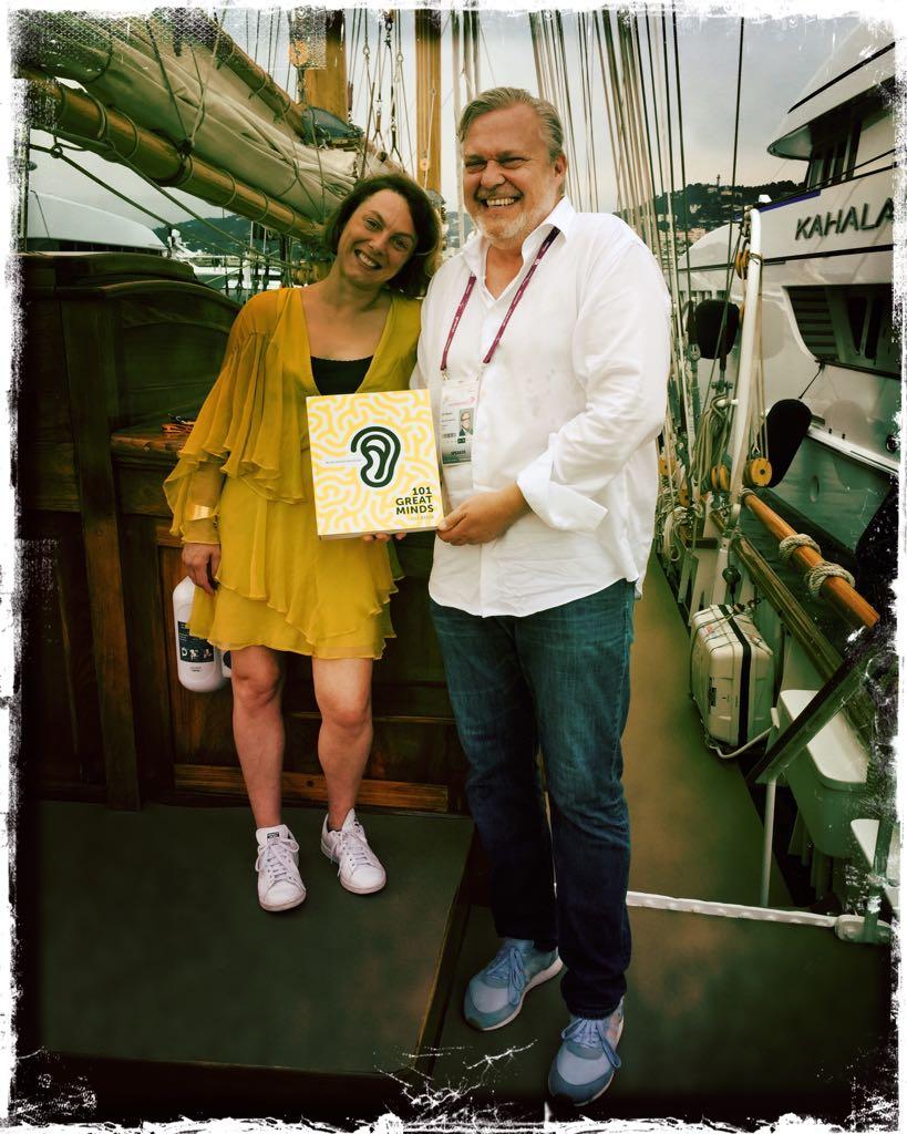 Silvia & Uli at Cannes Lions Festival of Creativity 2017.