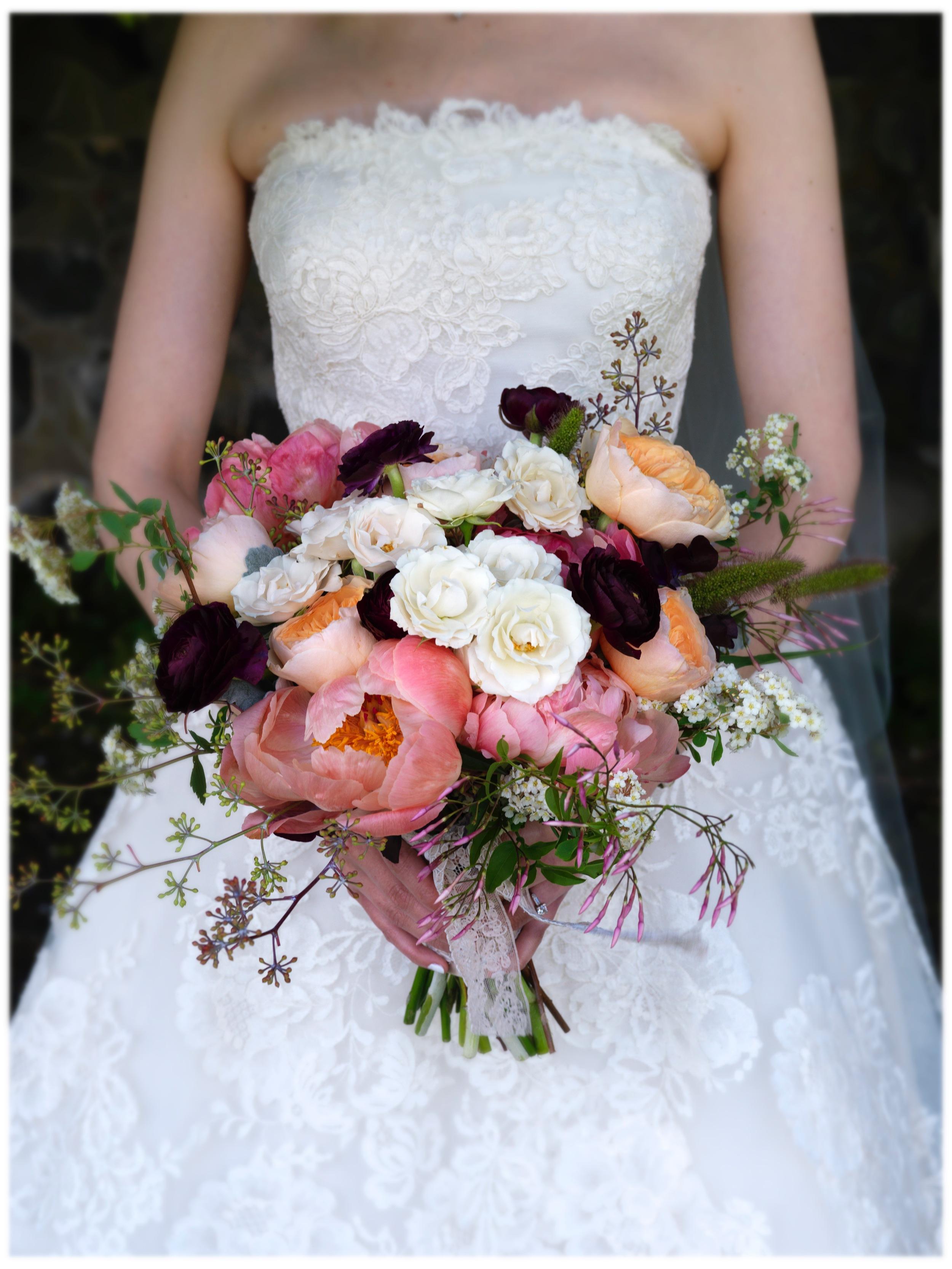 Brides Bouquet Wedding Flowers
