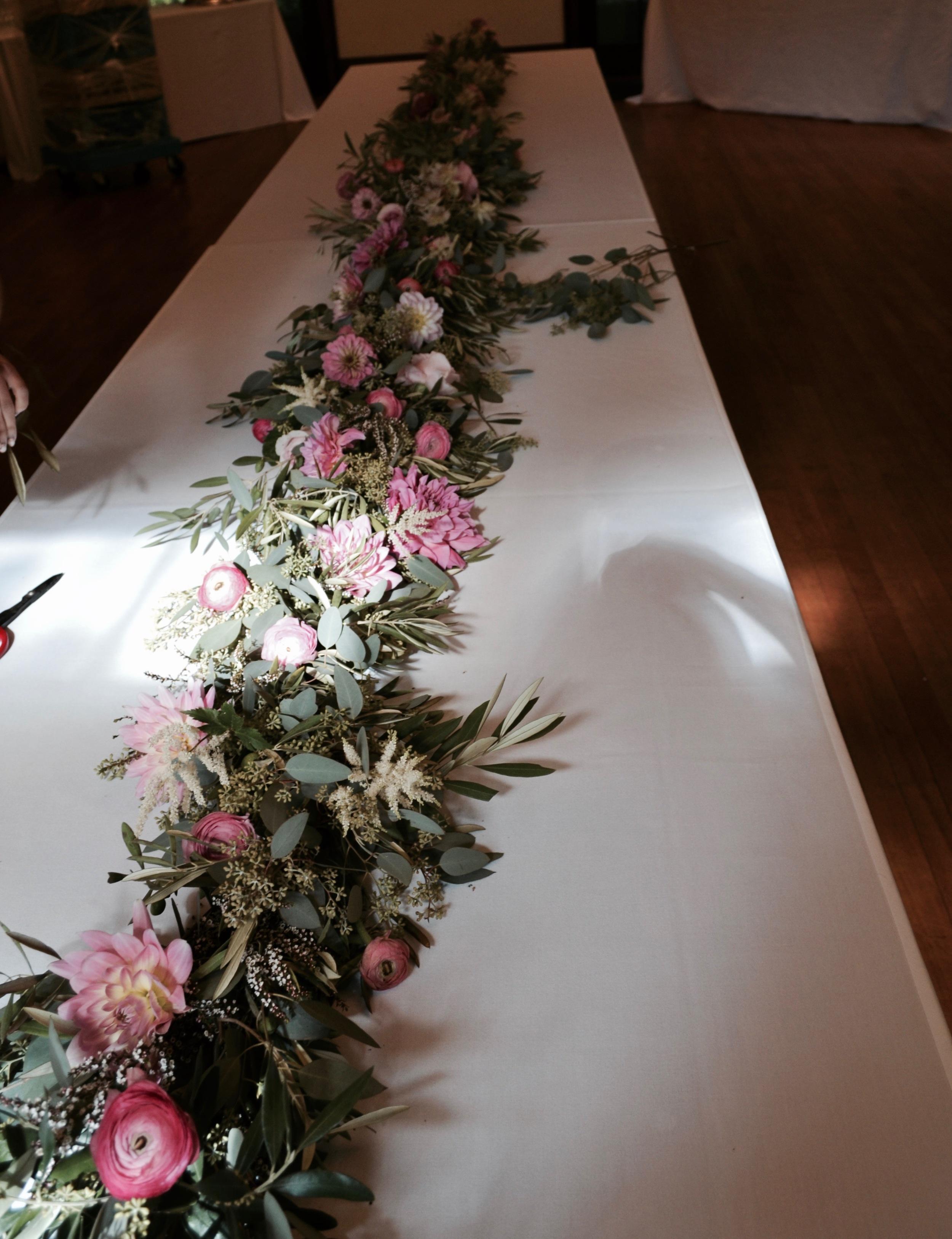 Wedding Tabel Centerpiece