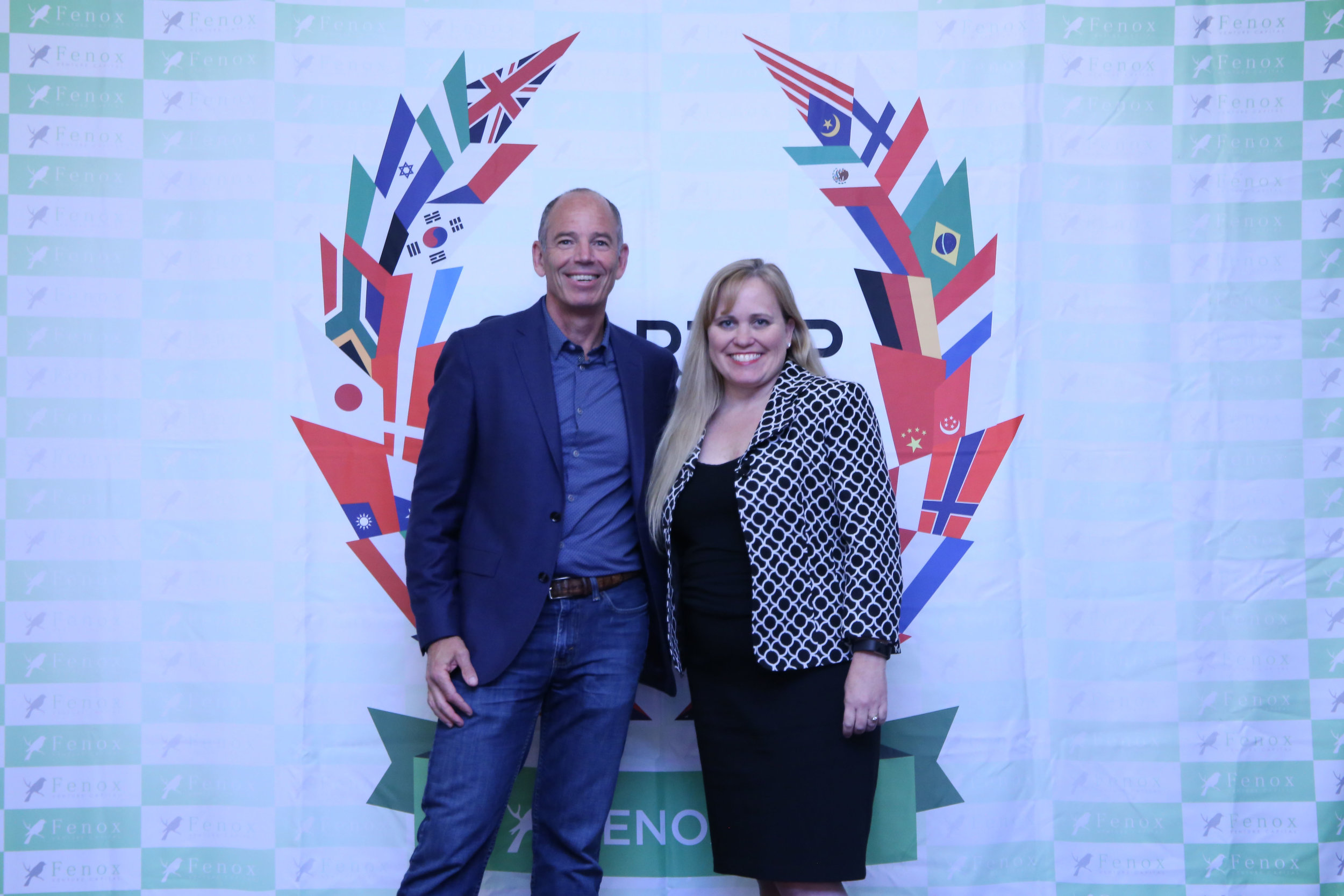 Charlotte Danielsson at a Meet & Greet with Marc Randolph, Cofounder of Netflix