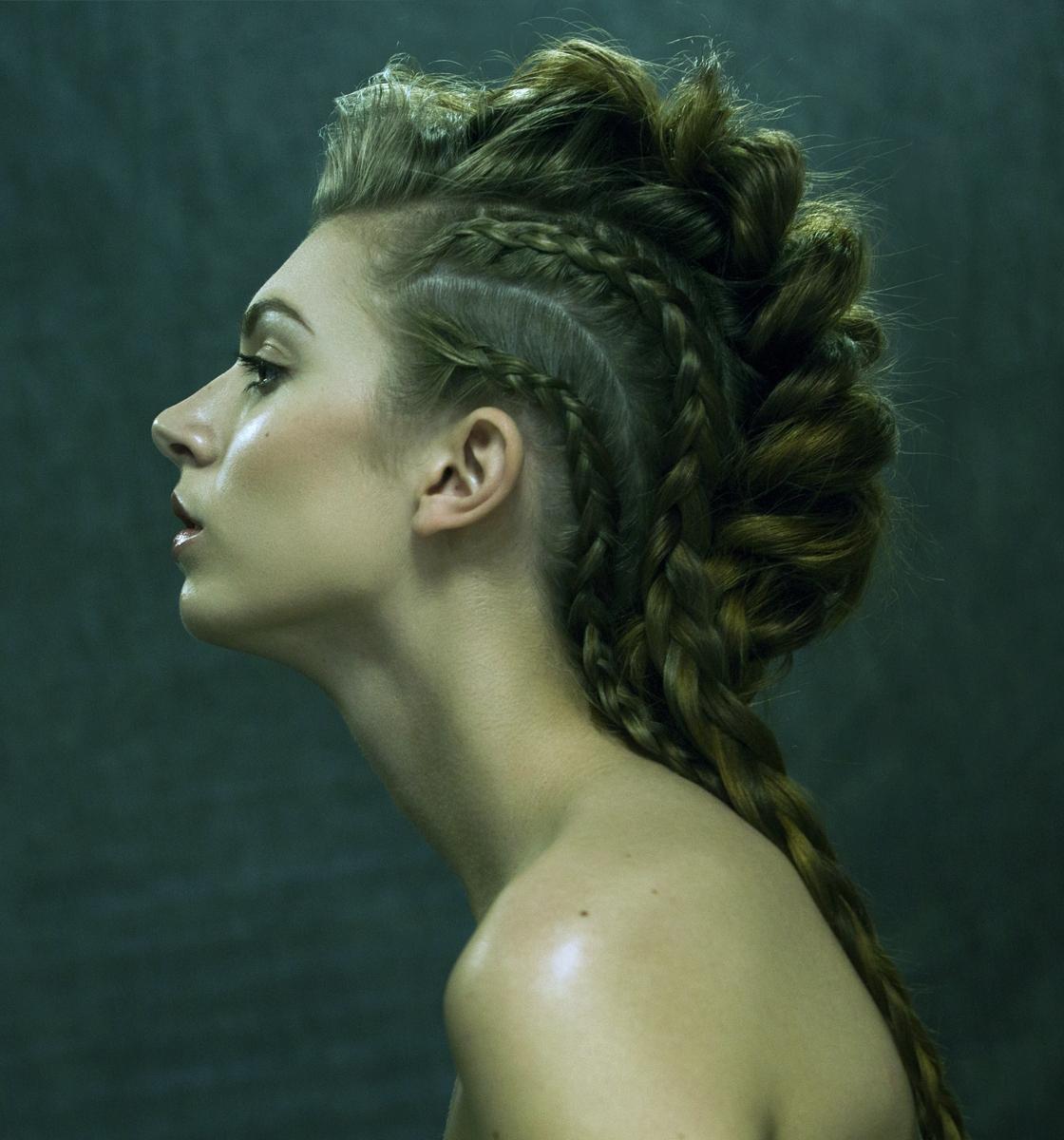 Nicole York Photography_Model Test_Braided Hair