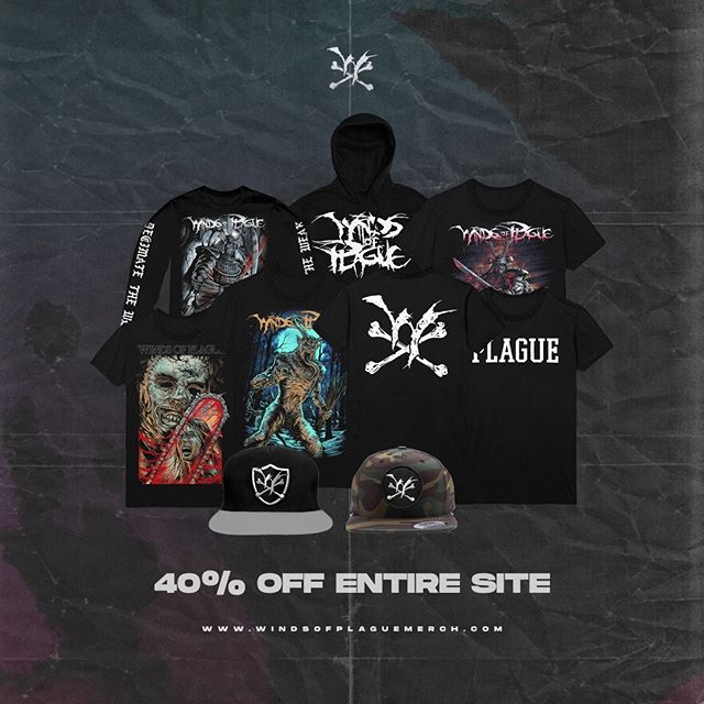 🔥 40% OFF WINDSOFPLAGUEMERCH.COM