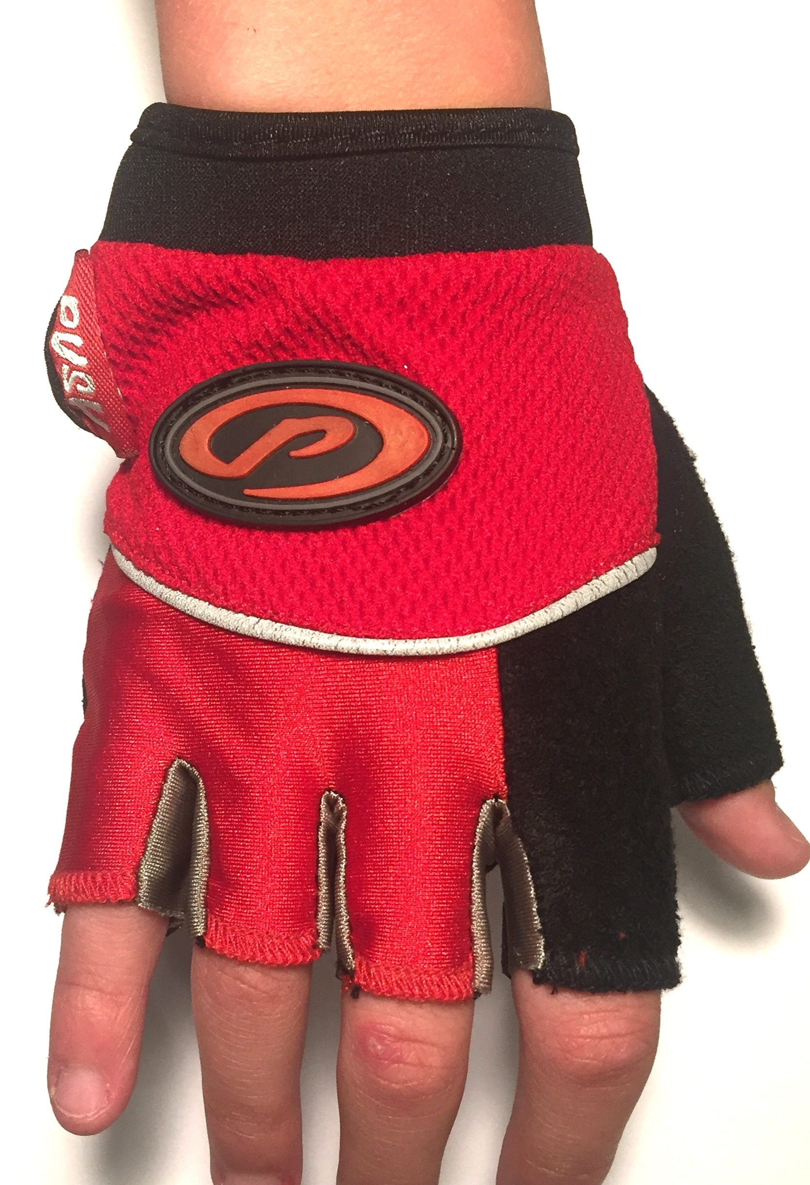 CLICK to PURCHASE GLOVES  Kids Red and Blue Bike Gloves