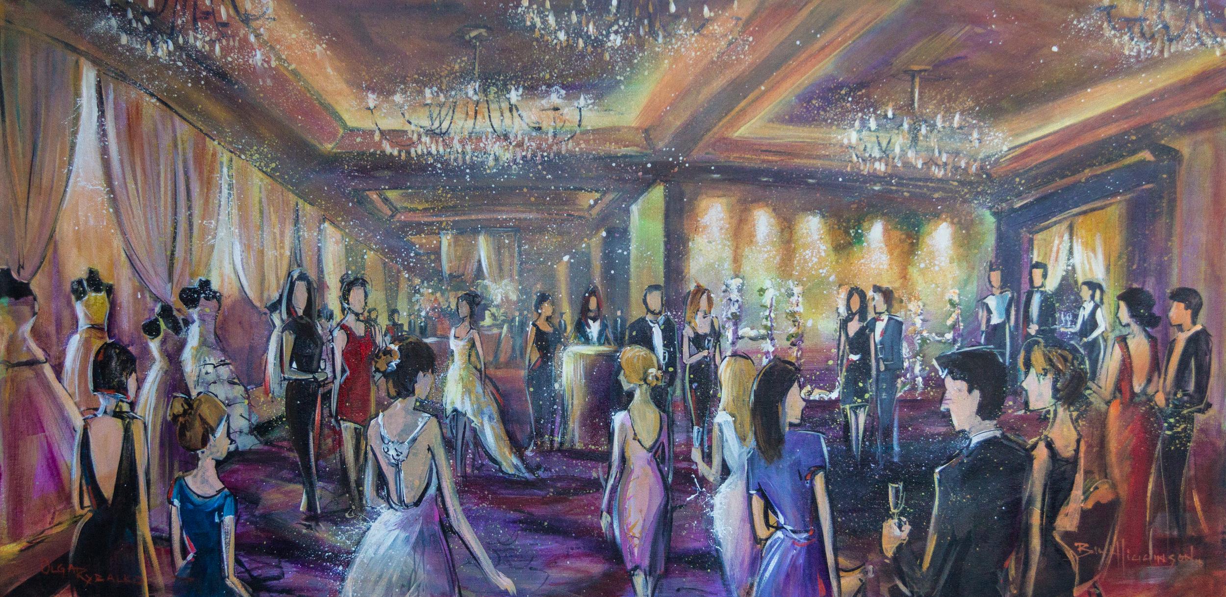 impressions_live_art_wedding_painting_hush_wedding_show_terminal_city_club